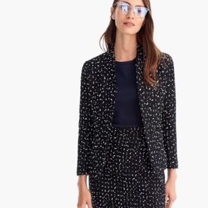 NWT J. Crew Getting out of Town navy tweed blazer